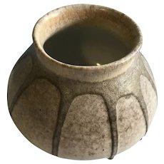 Drip glaze pottery vase