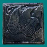 Arts & Crafts Studio Tile Galleon