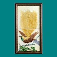 Tile panel by H.Richards, Bird