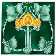 Art Nouveau Tile, Pilkington's