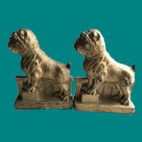 Pug Dog syrocco bookends