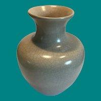 Large Pottery vase crackle glaze