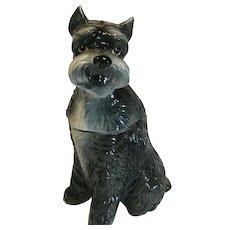 Schnauzer Dog Cookie Jar