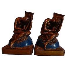 Bookends, Galvano Bronze, Lost Hope