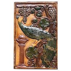 California Art Tile Co. , Peacock