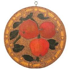 Flemish Art Pyrography, Fruit