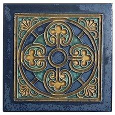 """Royal Delft Tile 8"""" Cloisonné Tile"""