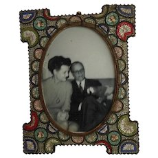 Micro Mosaic Frame Italy 19th c.