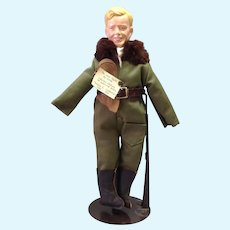 Lone Eagle Charles Lindbergh Doll by Zemea Limited 17/50