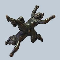 Chinese Acrobat Bronze Figures France 19th c.