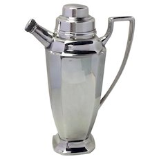 """Cocktail Shaker Sheffield Silver Plate 9 1/2"""""""