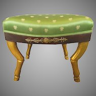 Early 19th Century French First Empire Foot Stool