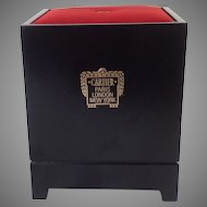 Vintage Silk Cartier Store Display Stand