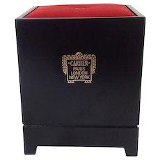Vintage Silk Cartier Store Display Stand