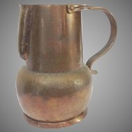 Hector Aguilar Copper Pitcher Taxco