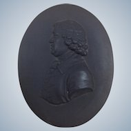 Josiah Wedgwood Plaque Black Basalt Early 19th C.