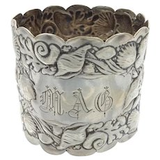 Gorham Nautical Sterling Napkin Ring 'MAG'