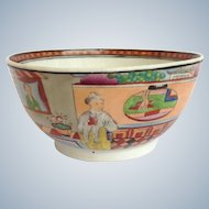 Spode 502 Asian Figures Bowl