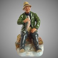 Doulton Fisherman Figure 'A Good Catch'