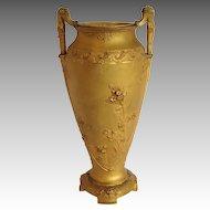 Bronze Gilt Vase Susse Freres by Guenardeu Art Nouveau 19th c
