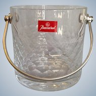 Baccarat Palerme Ice Bucket Discontinued