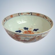 Chinese Export Bowl With Landscape Scenes