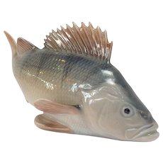 Royal Copenhagen Fish Porcelain Figurine