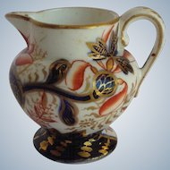 Miniature Spode Imari Pattern Pitcher c. 1820's