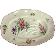 Luneville Old Strasbourg Well And Tree Serving Platter