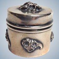 Thimble Case Sterling La Pierre Circa 1900