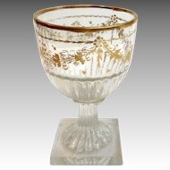 English Gilt Stem 18th Century Glass