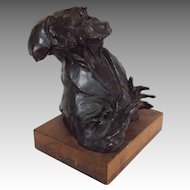 "David Aronson ""Rabbi"" Bronze Sculpture"