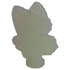 "Sabino Art Glass Butterfly As Is 6"""