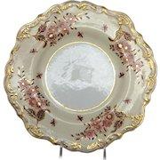 Spode Plate Felspar Circa 1830's