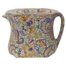 Paisley Teapot Wades' Compacto
