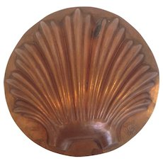 Copper Shell Mold Trottier Paris 7""