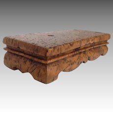 Pedestal Thuya Wood  Stand 19th c.