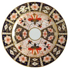 Imari Plate Luncheon Royal Crown Derby Old Mark