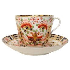 Royal Crown Derby Cup and Saucer Early 1900