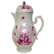 Chocolate Pot Wallandorf 18th Century As Is