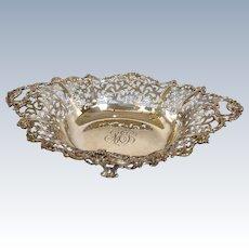 Pierced Bowl Howard & Co. Sterling