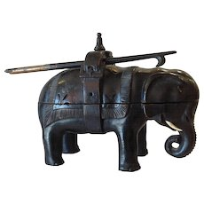 Elephant Ebony Ink Stand Goad Pen