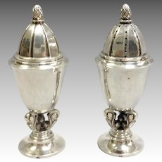 George Jensen Acorn Salt and Pepper Shakers Rohde