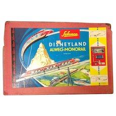 "Schuco Disneyland ""Highway in the Sky"" Alweg-Monorail 1:90"