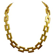 MMA Necklace Gold Plated Retired