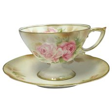 R.S. Prussia Cup and Saucer