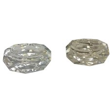 Two Baccarat Camel Ashtrays