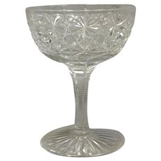 Russian Pattern Champagne Glass ABP