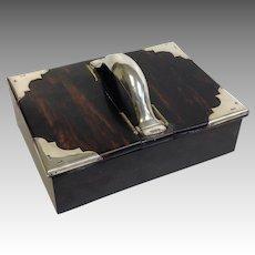 Coromandel Box English Sterling Mappin & Webb 1890's