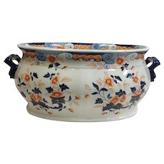 Spode Imari Pattern Number 2841 Foot Bath